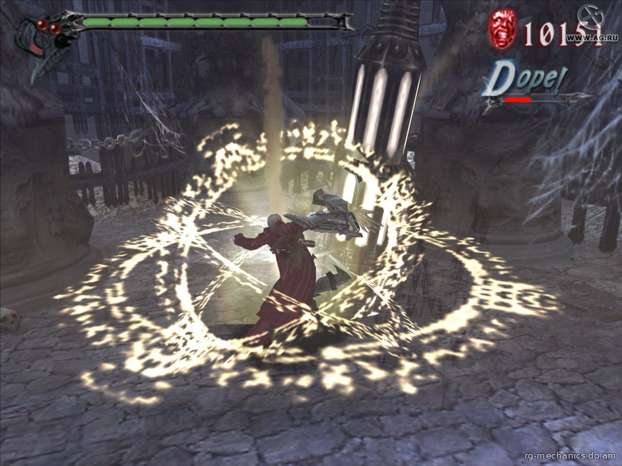 Скриншот к игре Devil May Cry 3: Dante's Awakening - Special Edition(2007) PC | RePack от R.G. Механики
