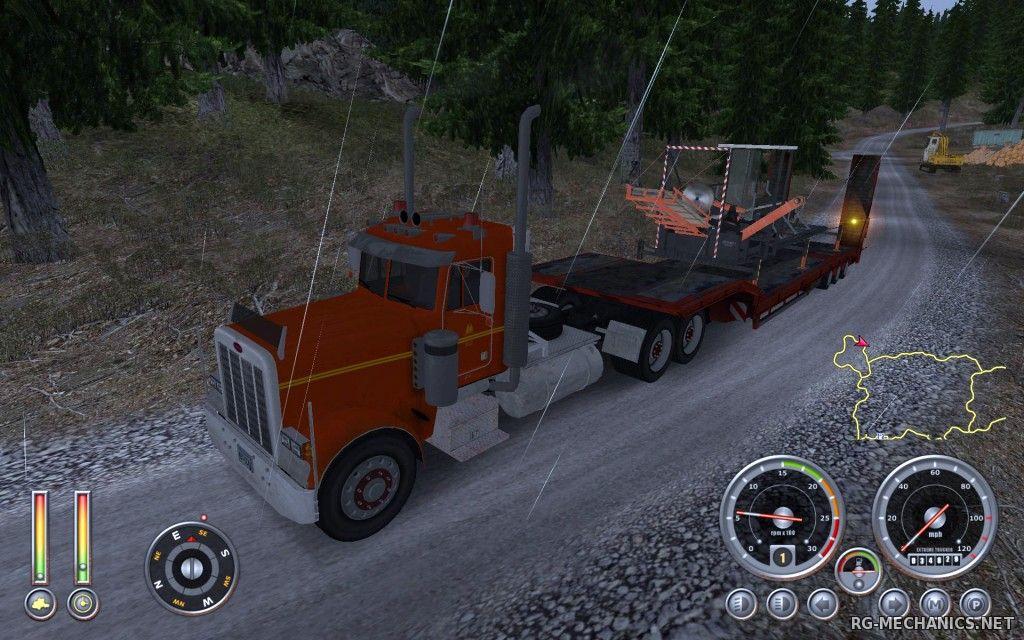 Скриншот к игре 18 Wheels of Steel: Extreme Trucker 2 (2011) PC | RePack от R.G. Механики