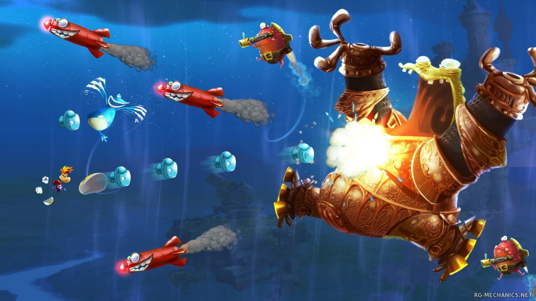 Скриншот к игре Rayman Legends (2013) PC | RePack от R.G. Механики