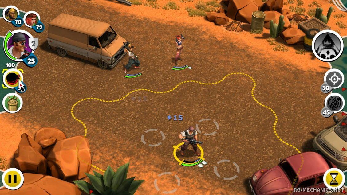 Скриншот к игре Antisquad [v 1.9.1 + 5 DLC] (2014) PC   RePack от R.G. Механики