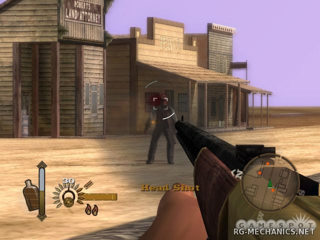 Скриншот к игре GUN (2006) PC | RePack от R.G. Механики