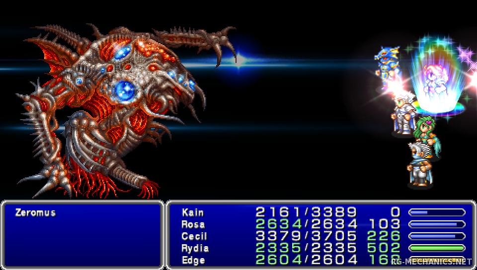 Скриншот к игре Final Fantasy IV (2014) PC   RePack от R.G. Механики