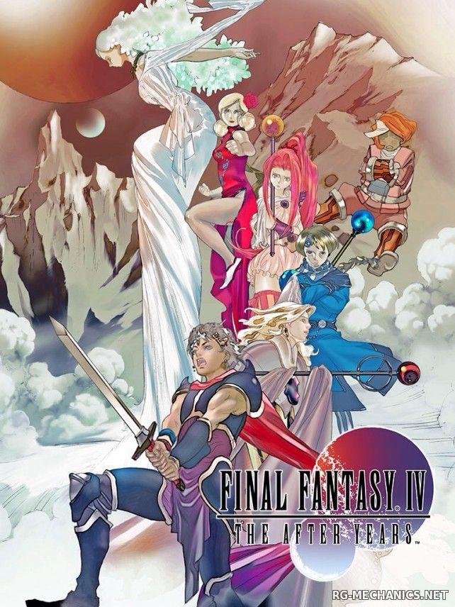Скриншот к игре Final Fantasy IV: The After Years (2015) PC | RePack от R.G. Механики