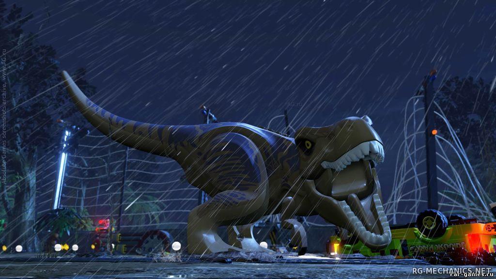 Скриншот к игре LEGO: Мир Юрского периода / LEGO: Jurassic World [Update 1] (2015) PC | RePack от R.G. Механики