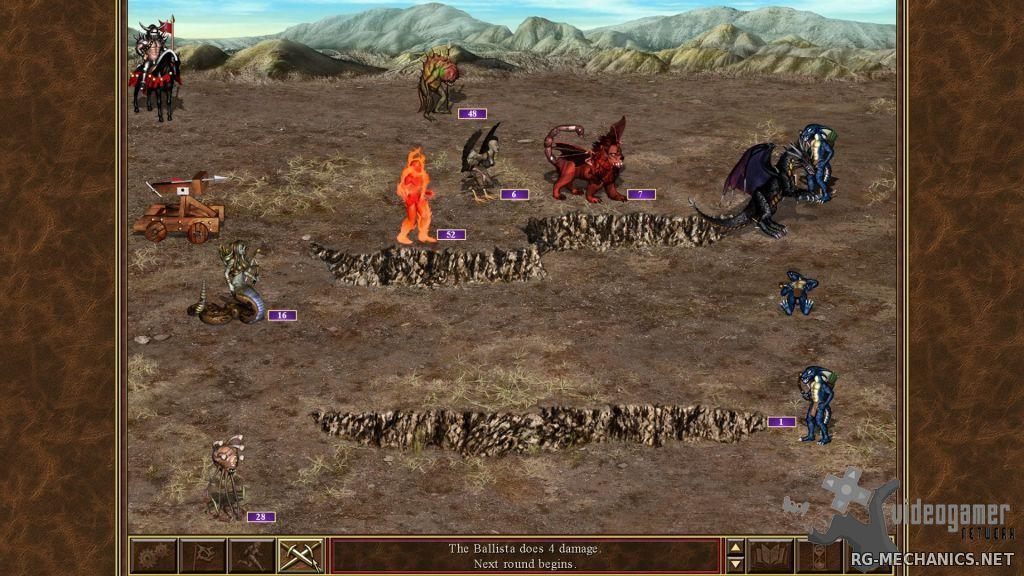 Скриншот к игре Heroes of Might & Magic 3: HD Edition [Update 4] (2015) PC | RePack от R.G. Механики