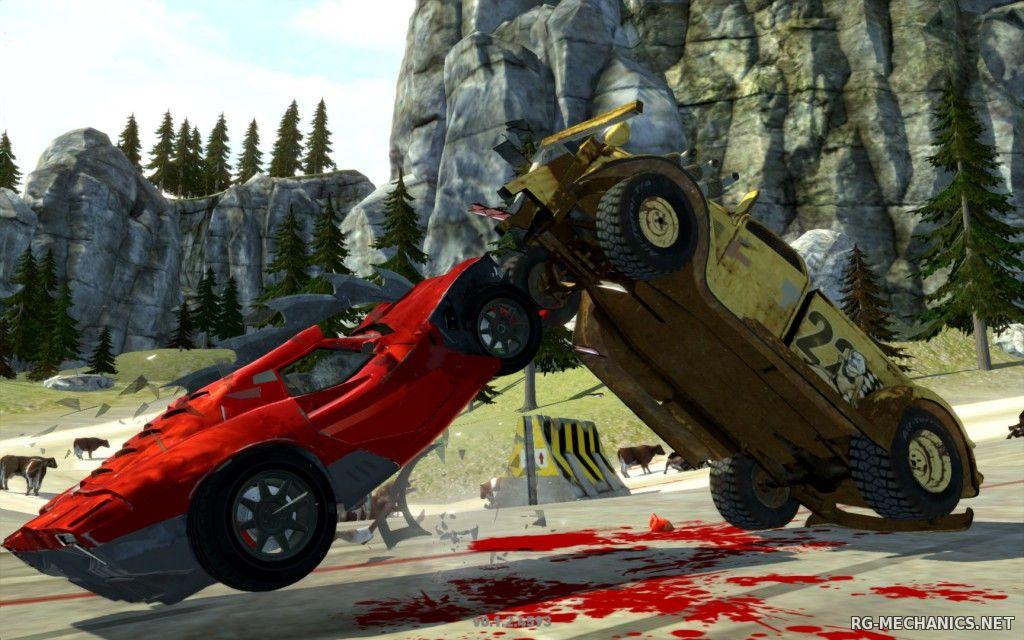 Скриншот к игре Carmageddon: Reincarnation (2015) PC   RePack от R.G. Механики