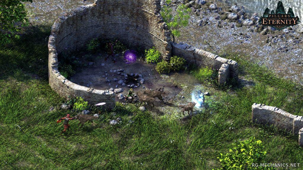 Скриншот к игре Pillars of Eternity: Hero Edition [v 2.00.0706] (2015) PC | RePack от R.G. Механики