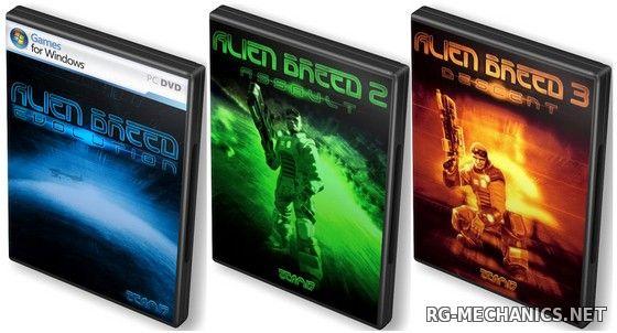 Скриншот к игре Alien Breed: Trilogy (2010) PC   RePack от R.G. Механики