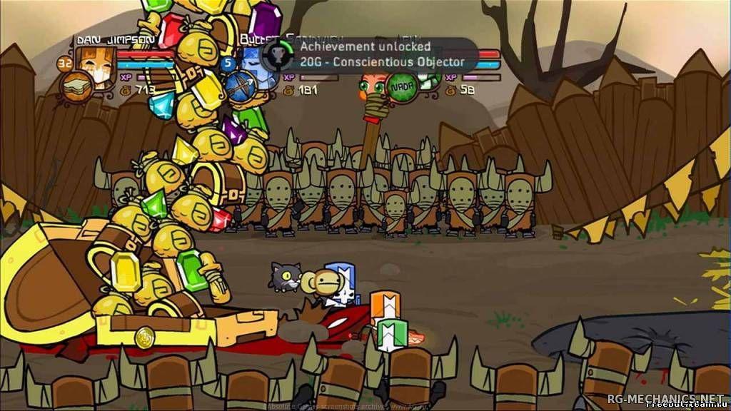 Скриншот к игре Castle Crashers (2012) PC | RePack от R.G. Механики