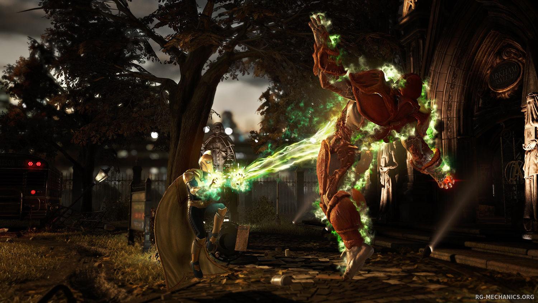 Скриншот к игре Injustice 2 (2017)