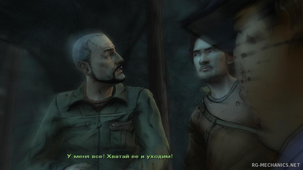 Скриншот к игре The Walking Dead: The Game. Season 1 (2012) PC | RePack от R.G. Механики