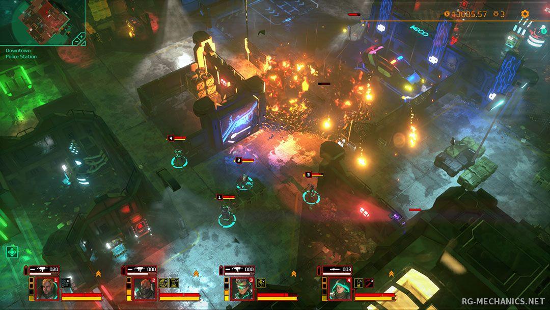 Скриншот к игре Satellite Reign [v 1.06] (2015) PC | RePack от R.G. Механики