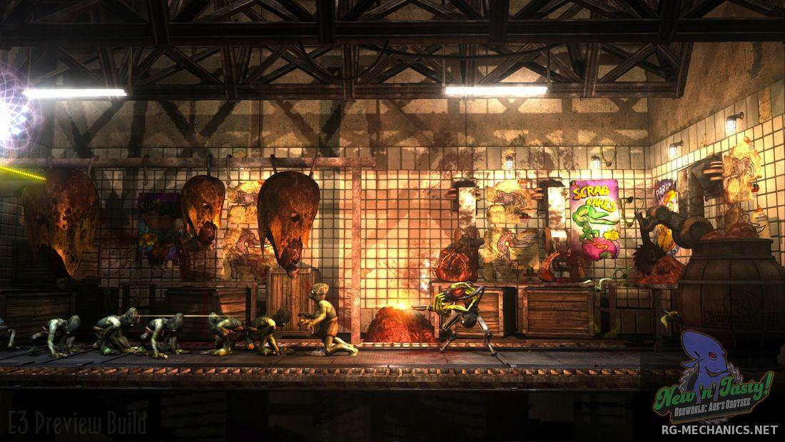 Скриншот к игре Oddworld: New 'n' Tasty [Update 6] (2015) PC   RePack от R.G. Механики