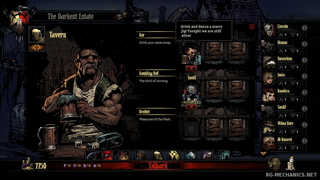 Скриншот к игре Darkest Dungeon [Build 24357 + 5 DLC] (2016) PC | Лицензия