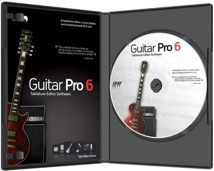 Guitar Pro 6.1.5 r11553 + Soundbanks r370 (2013) PC