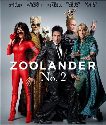 Образцовый самец 2 / Zoolander 2 (2016)