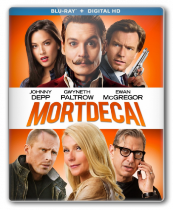 Мордекай / Mortdecai (2015) HDRip | D
