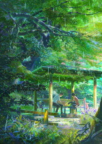 Сад изящных слов / Koto no ha no niwa (2013)
