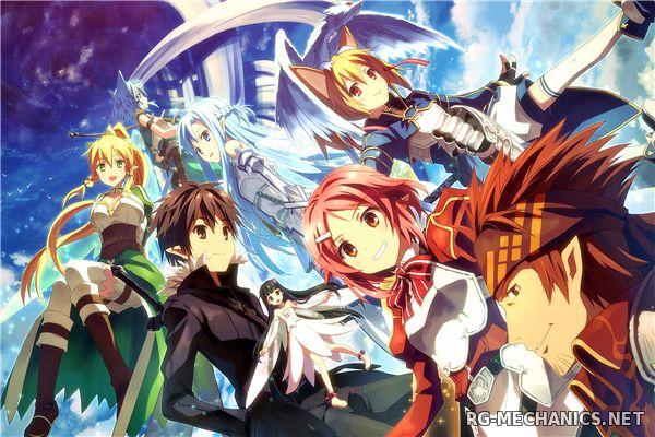 Скриншот к игре Мастера меча онлайн / Sword Art Online TV [01-25 из 25] (2012) HDTVRip 720p от TEAM RENEGADE | L