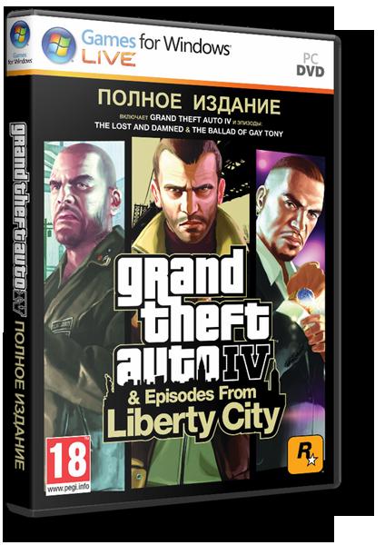 GTA 4 / Grand Theft Auto IV - Complete Edition (2010)