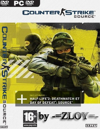 Counter-Strike Source v1.0.0.74 + Автообновление (No-Steam) by ZLOY