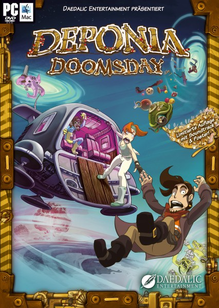 Deponia Doomsday (2016) PC | Лицензия