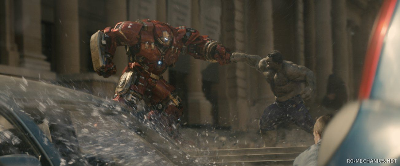 Скриншот к игре Мстители: Эра Альтрона / Avengers: Age of Ultron (2015) BDRip от Scarabey | Лицензия