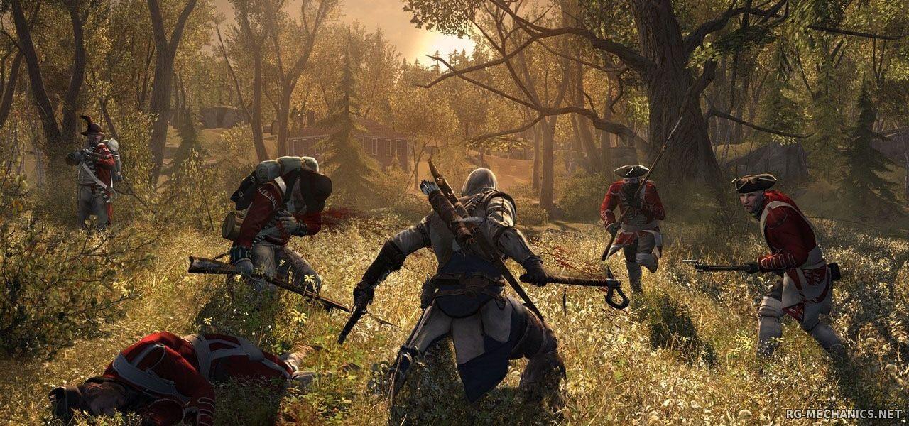 Скриншот к игре Assassin's Creed 3 [v 1.05] (2012) PC   RiP от Fenixx