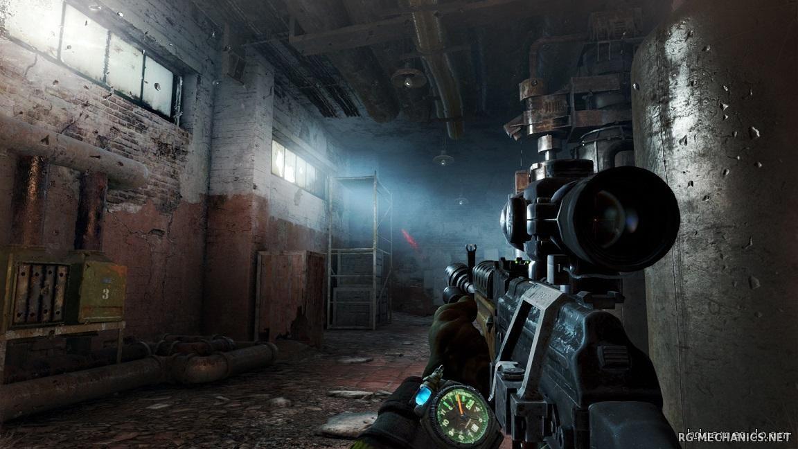 Скриншот к игре Metro 2033 - Redux [Update 7] (2014) скачать торрент RePack от xatab
