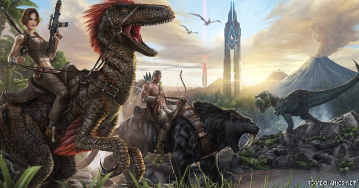 Скриншот к игре ARK: Survival Evolved (2015) PC | Repack