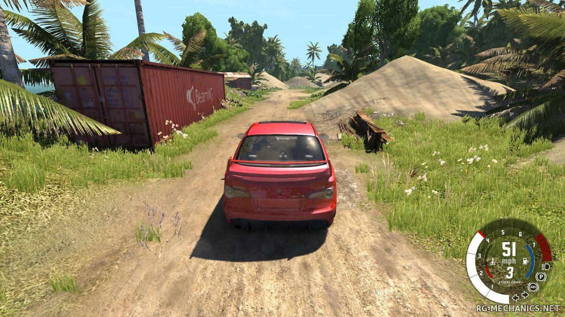 Скриншот к игре BeamNG DRIVE (2013) PC
