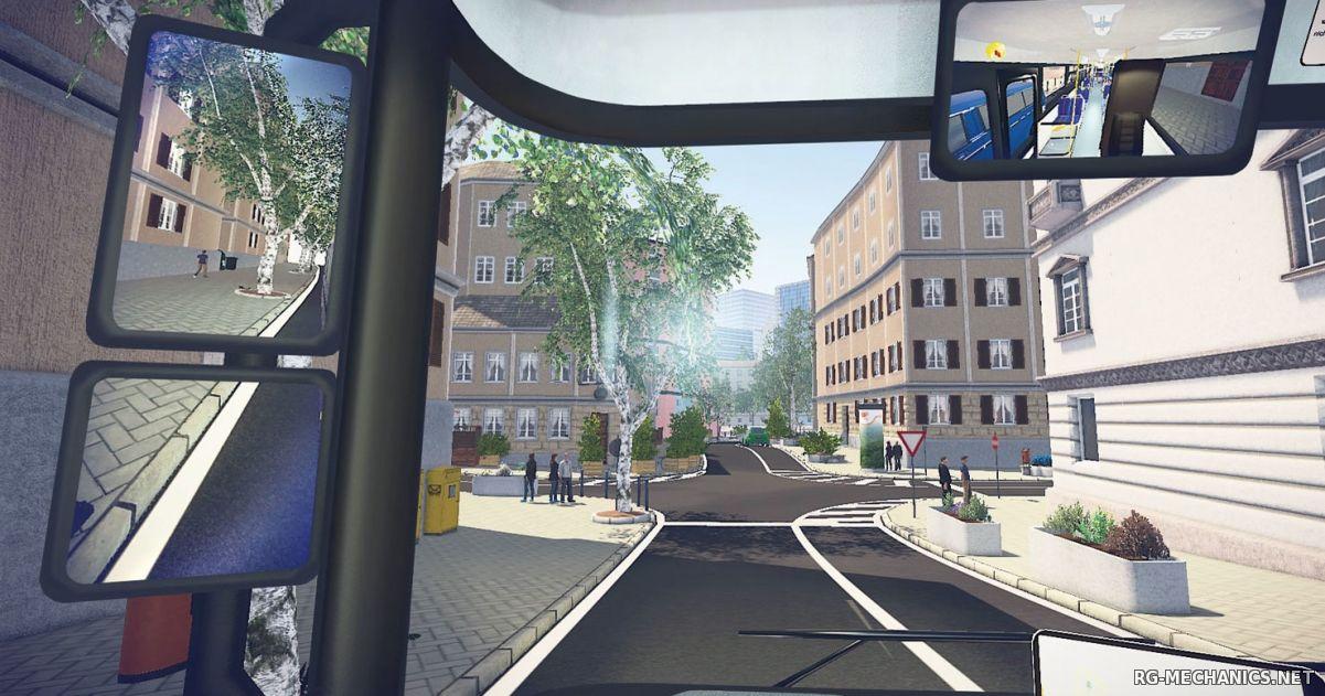 Скриншот к игре Bus Simulator 16 [Update 1] (2016) PC | RePack от Valdeni