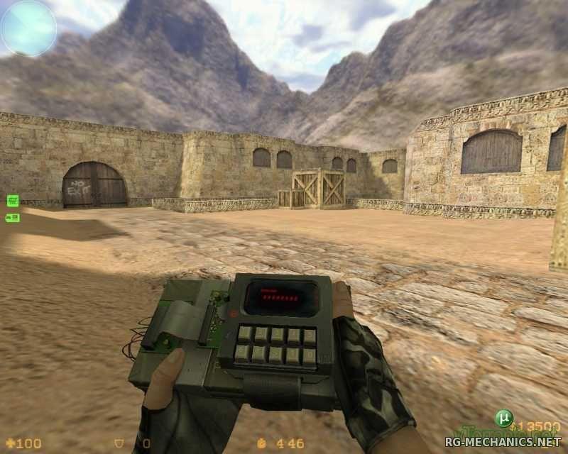 Скриншот к игре Counter Strike 1.6 Original v44 + Полная коллекция карт (2000) PC