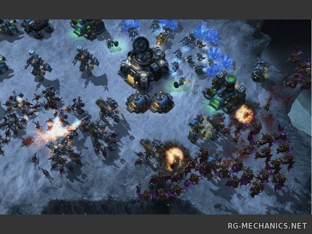 Скриншот к игре StarCraft 2: Wings of Liberty + Heart of the Swarm (2013) PC | RePack от z10yded