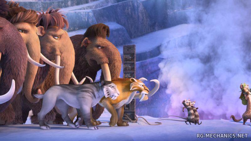 Скриншот к игре Ледниковый Период: Погоня за яйцами / Ice Age: The Great Egg-Scapade (2016) WEB-DLRip   iTunes