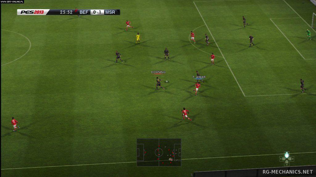 Скриншот к игре PES 2013 / Pro Evolution Soccer 2013 [v 1.04] (2012) PC | RePack от R.G. Catalyst
