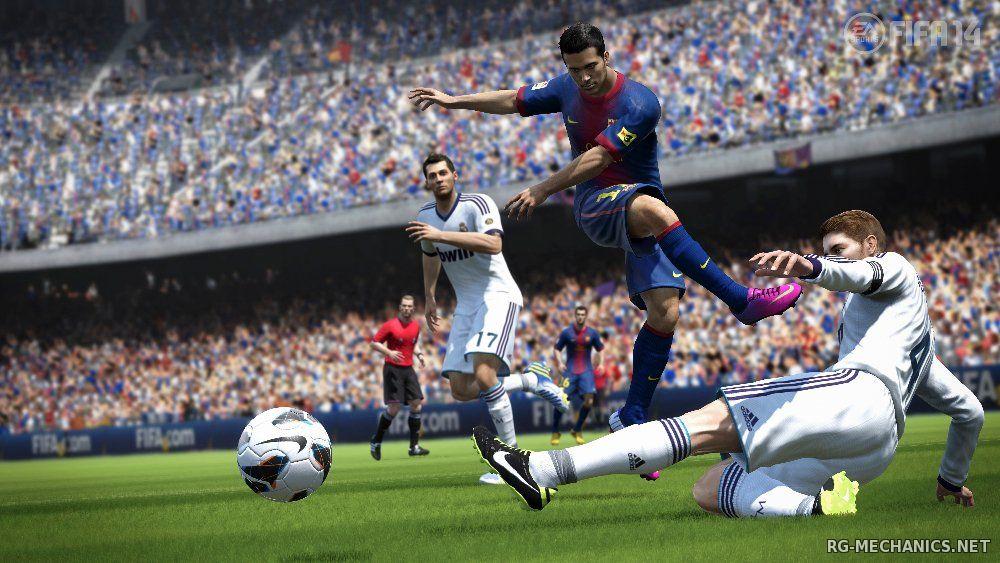 Скриншот к игре FIFA 14 (2013) PC | RePack от Scorp1oN