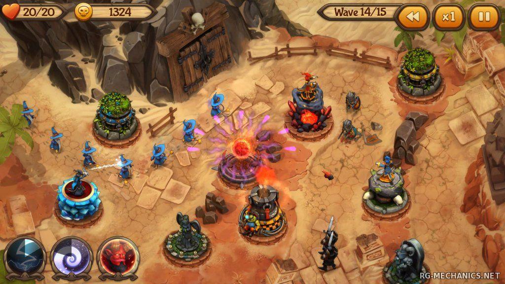 Скриншот к игре Evil Defenders [Update 1] (2015) PC | Steam-Rip от Let'sPlay