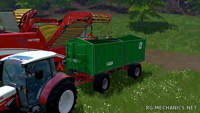 Скриншот 3 к игре Farming Simulator 15: Gold Edition [v 1.4.2 + DLC's] (2014) PC | RePack от R.G. Механики