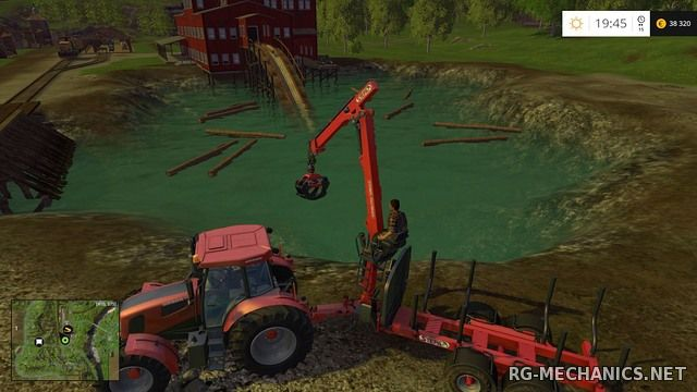 Скриншот 1 к игре Farming Simulator 15: Gold Edition [v 1.4.2 + DLC's] (2014) PC | RePack от R.G. Механики