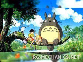 Скриншот к игре Мой сосед Тоторо / Tonari no Totoro (1988) BDRip от HQCLUB