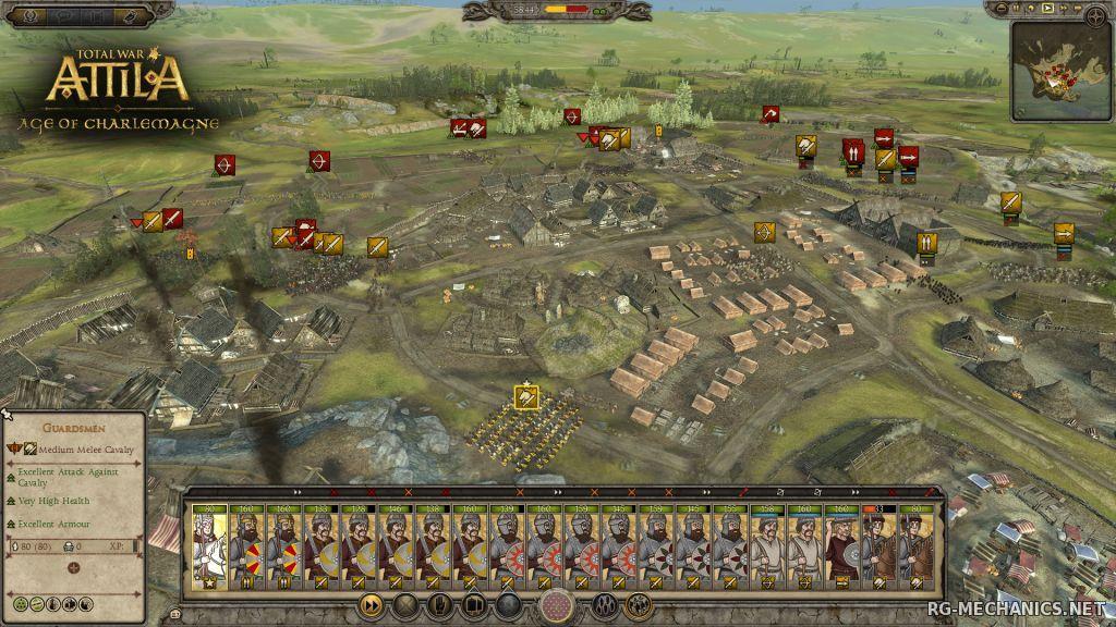 Скриншот к игре Total War: ATTILA [Update 6 + DLCs] (2015) PC | RePack от R.G. Catalyst