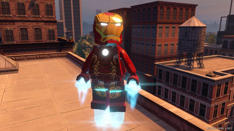 Скриншот к игре LEGO Marvel's Avengers Deluxe Edition [v1.0.0.26715] (2016) РС   RePack от Let'sPlay