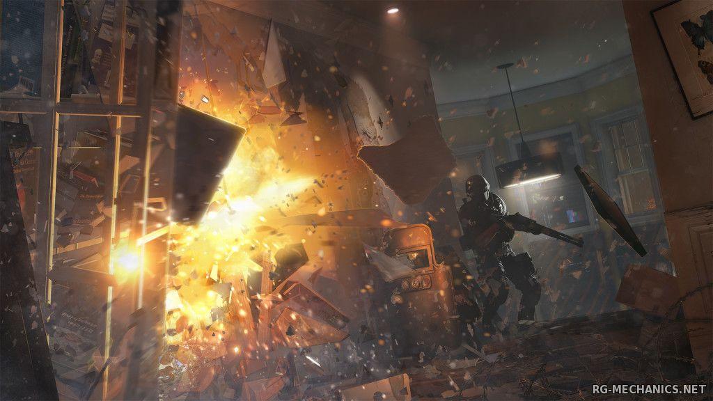 Скриншот к игре Tom Clancy's Rainbow Six: Siege [Update 5] (2015) PC   Steam-Rip от Fisher