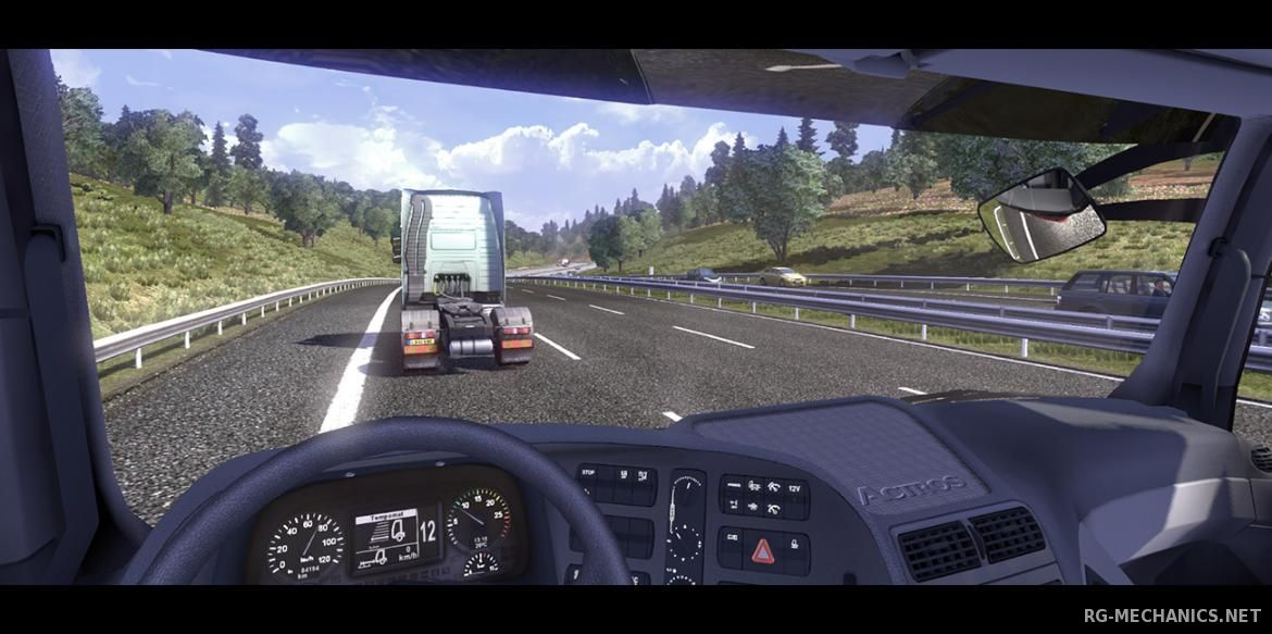 Скриншот к игре Euro Truck Simulator 2 [v 1.23.1.1s + 29 DLC] (2013) PC | Steam-Rip от R.G. Games