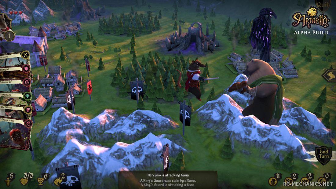 Скриншот к игре Armello [v 1.2.1 P1] (2015) PC | Steam-Rip от Let'sРlay