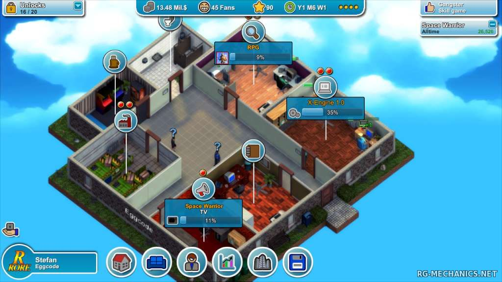 Скриншот к игре Mad Games Tycoon [v0.160414B] (2015) PC | RePack
