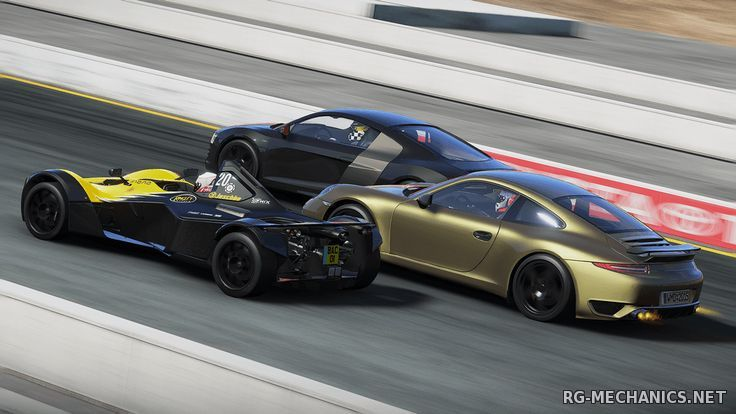 Скриншот к игре Project CARS: Game of the Year Edition (2015) PC   RePack от R.G. Catalyst