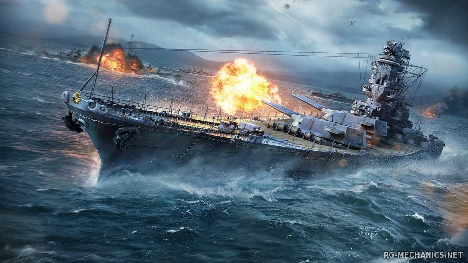 Скриншот 2 к игре World of Warships [0.5.6.0] (2015) PC | Online-only