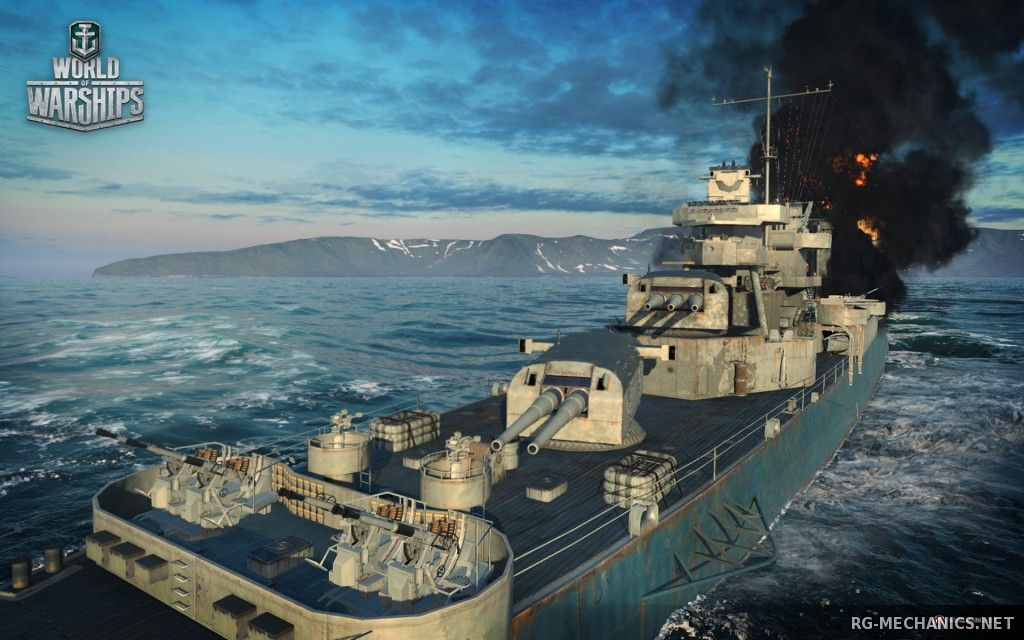 Скриншот 3 к игре World of Warships [0.5.6.0] (2015) PC | Online-only